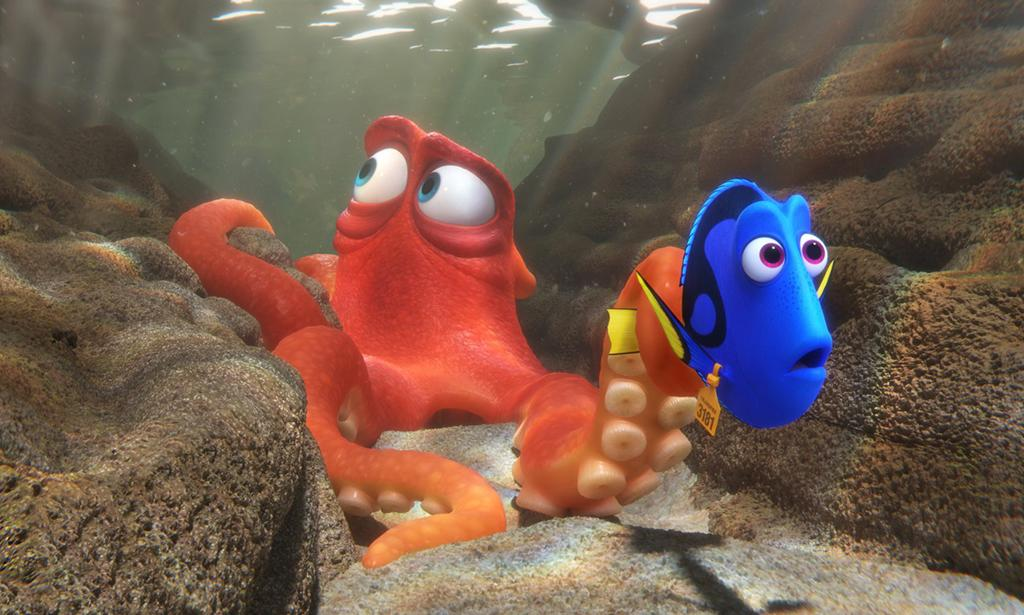<p><i>Finding Dory</i> was the box office hit of the summer (it's 2016's highest-grossing film with $486.3 million) and a critical favorite, but it couldn't swim into the Best Animated Film category. No Pixar magic this year. (Photo: Disney/Pixar) </p>
