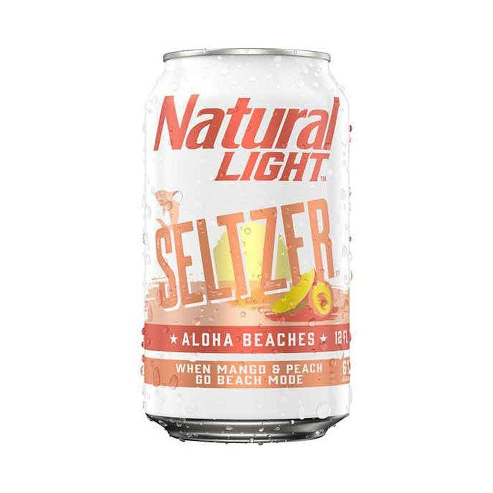 """<p>drizly.com</p><p><a href=""""https://go.redirectingat.com?id=74968X1596630&url=https%3A%2F%2Fdrizly.com%2Fbeer%2Fspecialty-beer-alternatives%2Fhard-seltzer%2Fnatural-light-seltzer-aloha-beaches%2Fp96873&sref=https%3A%2F%2Fwww.cosmopolitan.com%2Ffood-cocktails%2Fg36596713%2Fbest-hard-seltzers%2F"""" rel=""""nofollow noopener"""" target=""""_blank"""" data-ylk=""""slk:BUY IT HERE"""" class=""""link rapid-noclick-resp"""">BUY IT HERE</a></p><p>Day-drinkers, beware: The higher ABV will catch up to you if you're not careful. But it's a delicious mango-and-peach one (okay, maybe two) and done.<br><strong><br>Crushability: </strong>4<strong><br>Craveability:</strong> 3<br><strong>Creativity:</strong> 2.5<br><strong>Overall: </strong>9.5<br><br><strong>Calories:</strong> 133<strong><br>Sugar: </strong>1.9g<strong><br>ABV:</strong> 6%</p>"""