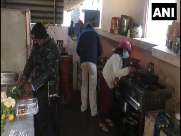 Differently-abled employees in the restaurant. (Photo/ANI)