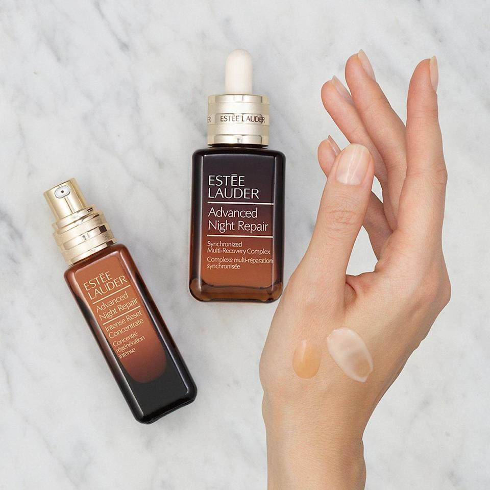 """<p><strong>Estée Lauder</strong></p><p>sephora.com</p><p><strong>$200.00</strong></p><p><a href=""""https://go.redirectingat.com?id=74968X1596630&url=https%3A%2F%2Fwww.sephora.com%2Fproduct%2Festee-lauder-advanced-night-repair-synchronized-multi-recovery-complex-P461159&sref=https%3A%2F%2Fwww.townandcountrymag.com%2Fstyle%2Fbeauty-products%2Fg33537022%2Fthe-weekly-covet-august-7-2020%2F"""" rel=""""nofollow noopener"""" target=""""_blank"""" data-ylk=""""slk:Shop Now"""" class=""""link rapid-noclick-resp"""">Shop Now</a></p><p>""""I have been using Estée Lauder Advanced Night Repair every night for years. When I skip it, even for a few days, it's like someone hit a dimmer switch on my inner glow (I'll say the same for Skinceuticals CE Ferulic). I'm eager to get my hands on the newest update to the classic formula, launching this week: the ANR Synchronized Multi-Recovery Complex, which promises to speed up skin's natural repair process and increase collagen production even more effectively than before.'</p>"""