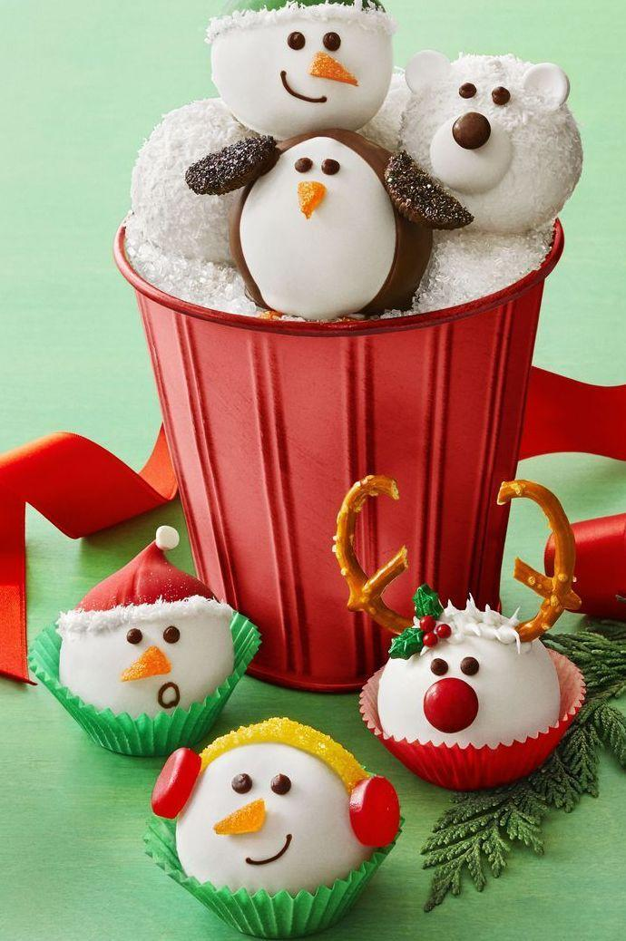 """<p>Grab the kids and bake these adorably festive truffles on a snow day.</p><p><em><a href=""""https://www.womansday.com/food-recipes/food-drinks/a25358417/snowy-cookie-truffles-recipe/"""" rel=""""nofollow noopener"""" target=""""_blank"""" data-ylk=""""slk:Get the recipe from Woman's Day »"""" class=""""link rapid-noclick-resp"""">Get the recipe from Woman's Day »</a></em></p>"""
