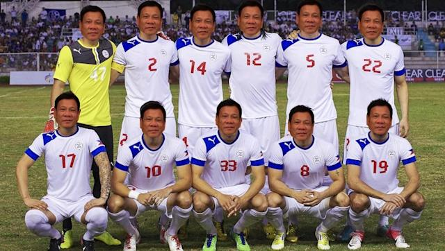 "<p>Rodrigo Duterte thinks football is for cowards. Possibly the single most dangerous individual leading a nation - even including the obvious - in the world today. 18-man squads? He's up for them - but only of the 'death squad' kind. </p> <br><p>Trivia: Trying to find a couple of choice historical quotes for this piece (like the time he claimed to have taken a criminal up in a helicopter and...pushed him out to his death) came up with this from TUESDAY. THIS TUESDAY. </p> <br><p>""Make me mad. Get me a terrorist. Give me salt and vinegar. I will eat his liver.""</p> <br><p>Football vibe: N/A</p>"