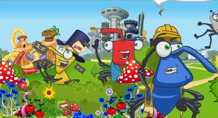 Binweevils has expanded wildly since it launched as a cartoon on Nickelodeon - and the social network now draws 2.3 million users every month, and has won a BAFTA, as well as spawning its own magazine, trading cards and toys. Paying players (called Bin Tycoons) can run their own businesses within the site.