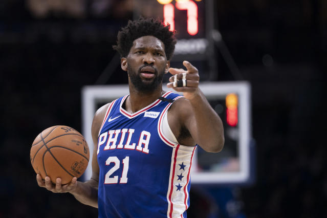 The Sixers might have a fatal flaw, and it is not Joel Embiid. (Mitchell Leff/Getty Images)