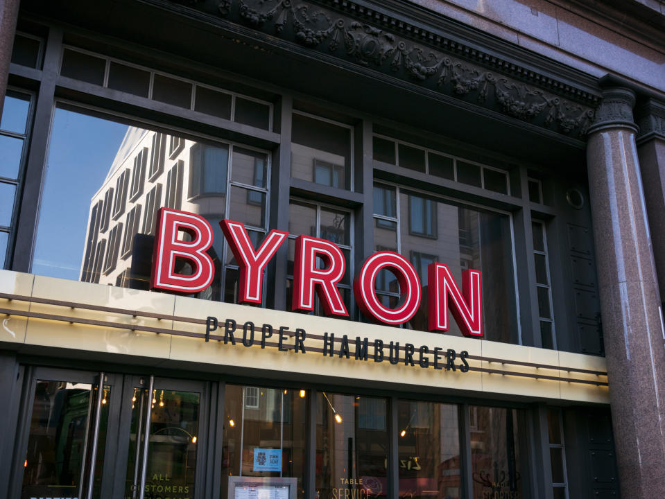 Byron Burger went into administration earlier in the year. Credit: Getty