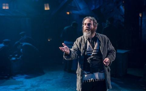 Fiddler on the Roof at the Menier Chocolate Factory - Credit: Johan Persson