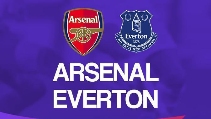 Premier League - Arsenal Vs Everton (Bola.com/Adreanus Titus)