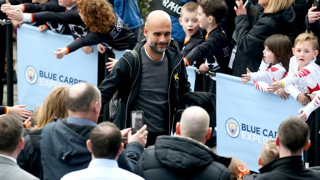 Le beau geste de Guardiola — Man City