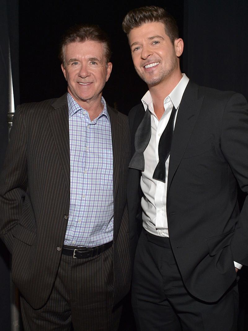 Robin Thicke Has His First Birthday Without Late Father Alan Thicke: Love You Pops
