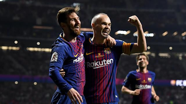 Iniesta, Suarez and talisman Messi will all part of the Barca matchday squad that will take on Masandawana at the FNB Stadium on Wednesday