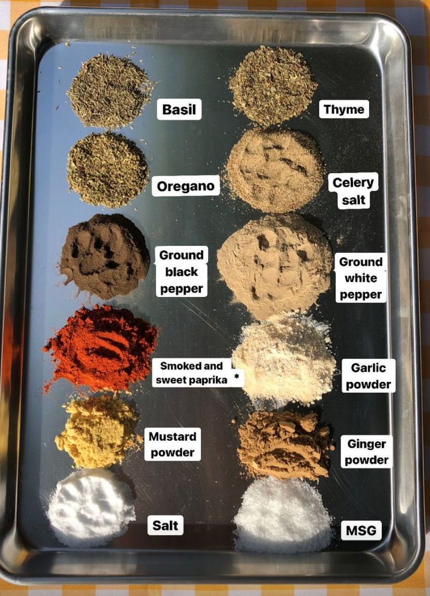 KFC's 11 secret herbs and spices