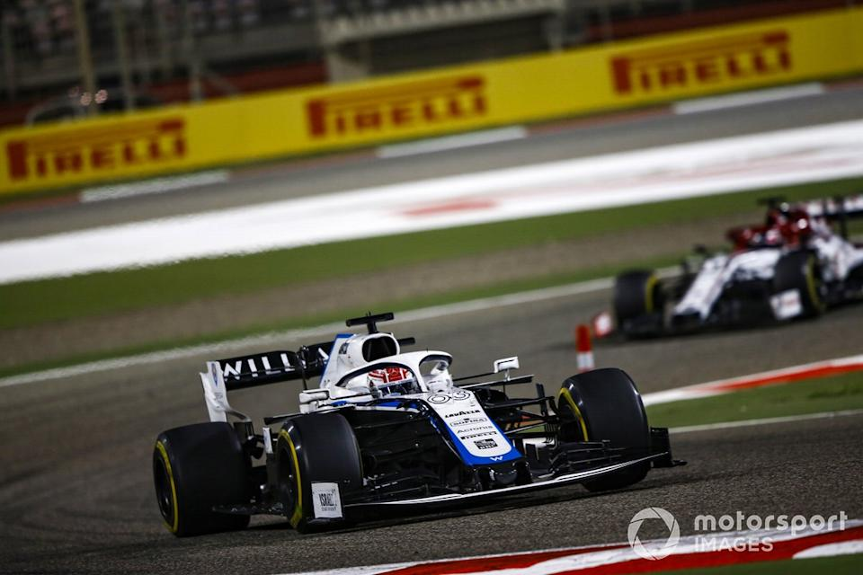"""George Russell, Williams FW43<span class=""""copyright"""">Andy Hone / Motorsport Images</span>"""