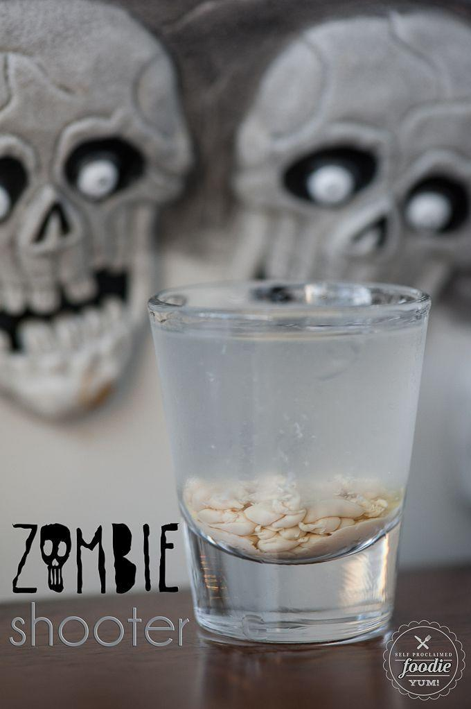 "<p>Prepare for the zombie apocalypse by taking these three-ingredient shots. </p><p><em><a href=""http://selfproclaimedfoodie.com/zombie-shooter/"" rel=""nofollow noopener"" target=""_blank"" data-ylk=""slk:Get the recipe from Self Proclaimed Foodie »"" class=""link rapid-noclick-resp"">Get the recipe from Self Proclaimed Foodie »</a></em></p>"