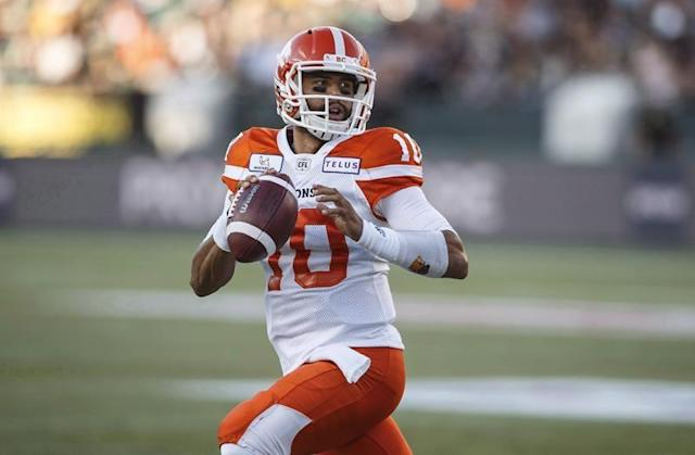 Quarterback questions loom for B.C. Lions following pair of losses