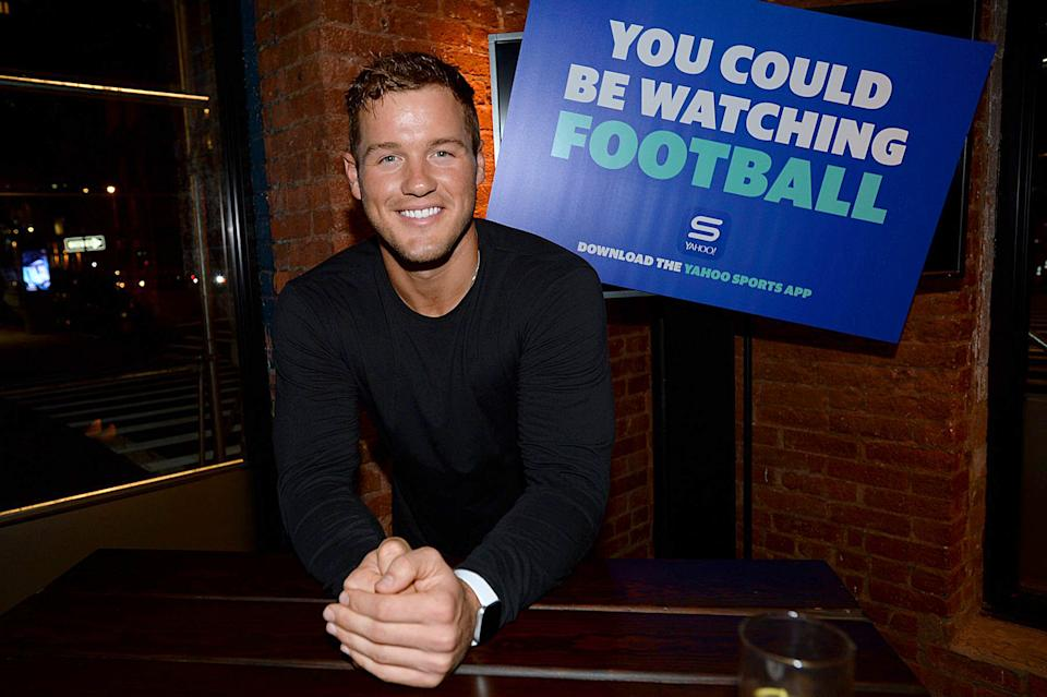 Colton Underwood talks 'Bachelor in Paradise' drama while celebrating football kickoff with Yahoo Sports. (Photo: Getty Images)