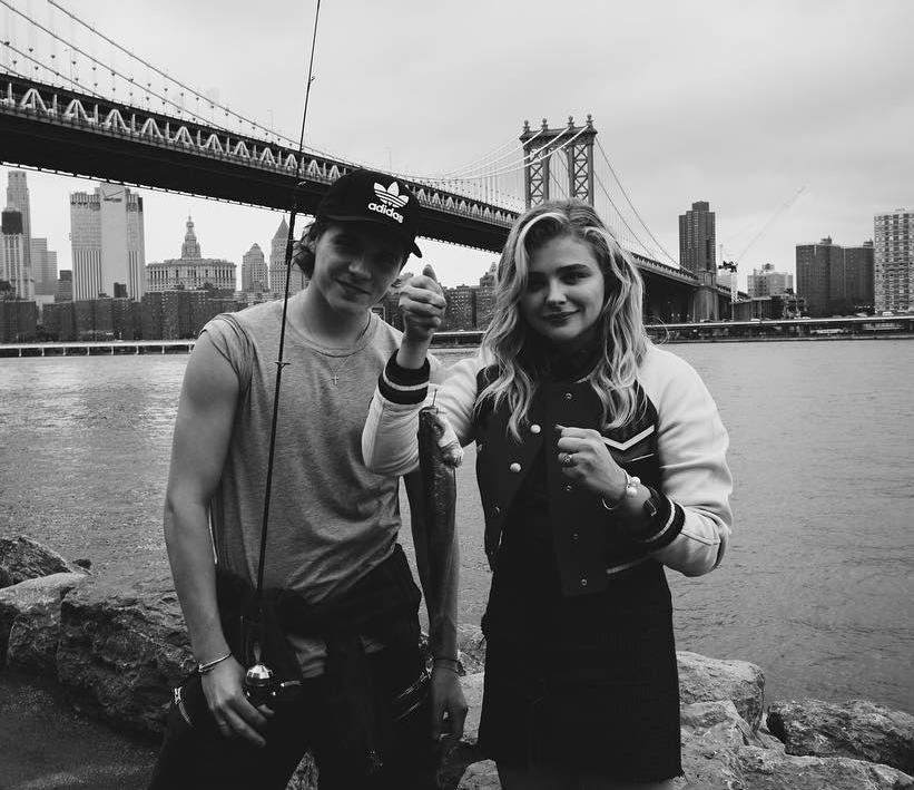 """We don't view fishing as a particularly romantic hobby, but that didn't stop these young lovebirds from tossing lines during a date night in Brooklyn. We're not sure how the actress's designer jacket smelled when they were finished, but that's between her and Brooklyn. And her dry cleaner. <i>(Photo: <a href=""""https://www.instagram.com/p/BHg9Vr4BZO9/?taken-by=brooklynbeckham&hl=en"""">Instagram</a>)</i>"""