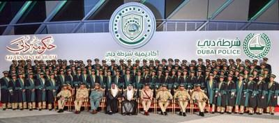 Group photo of the graduates during the ceremony.