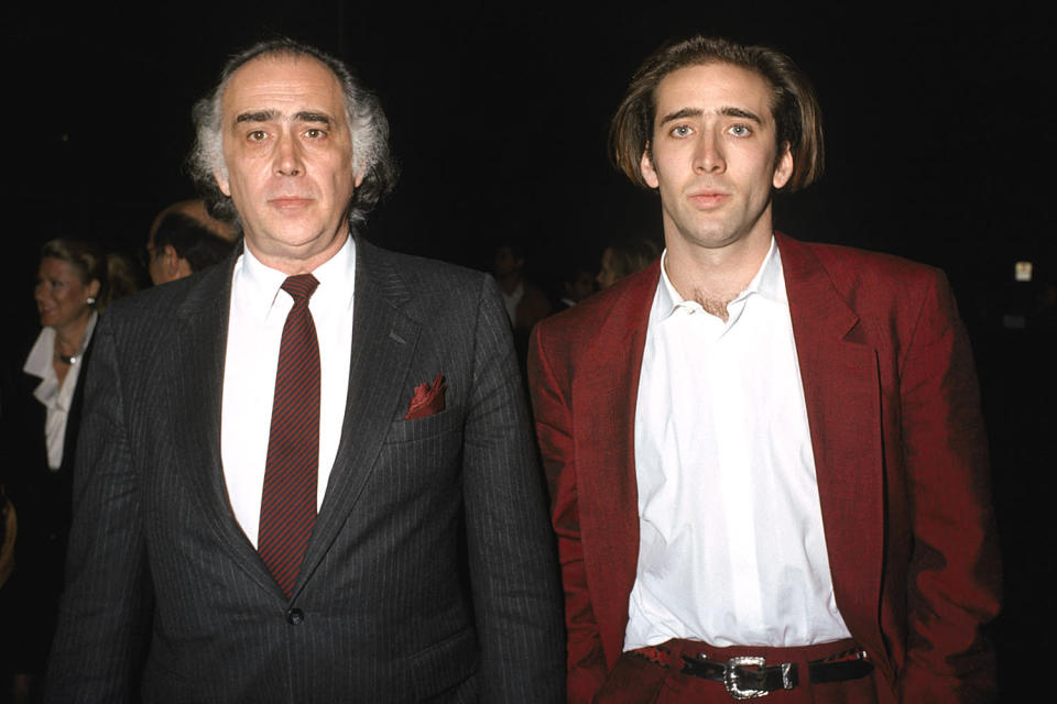 <p>The <em>Willy's Wonderland</em> star is the son of the late academic and Coppola film studio executive.</p>