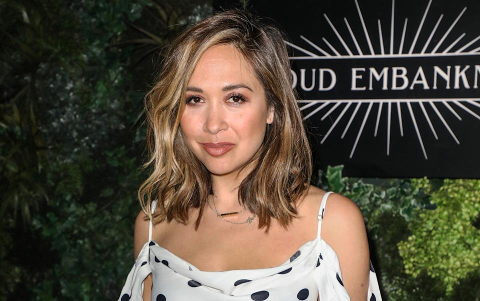 Myleene Klass was allegedly soat on by a taxi driver. (Getty Images)