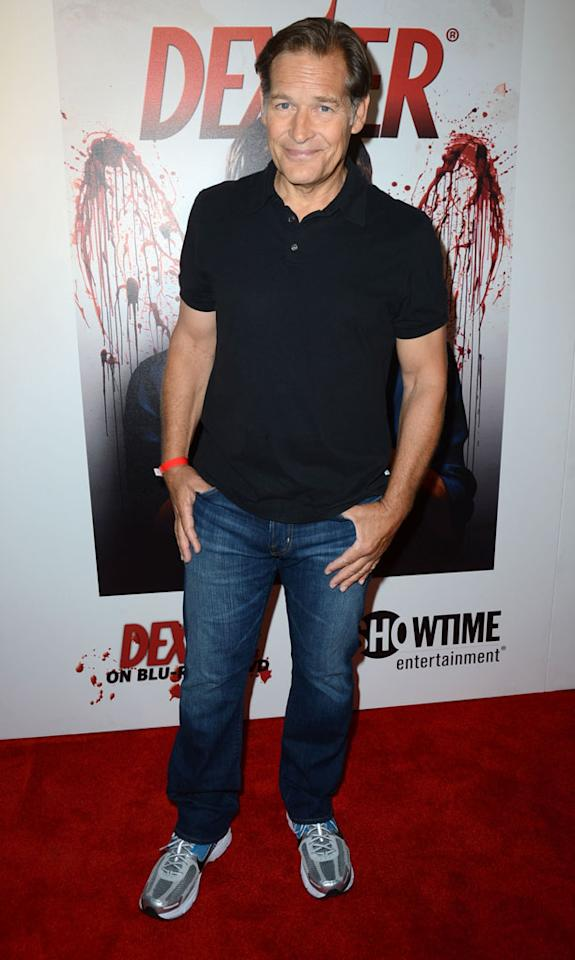 """James Remar arrives at the """"Dexter"""" Season 6 DVD release party held at Tropicana Bar inside The Hollywood Roosevelt Hotel on August 7, 2012 in Hollywood, California."""