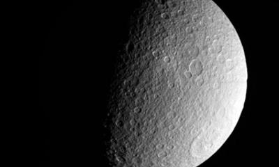 Saturn Moon Surface Revealed In Nasa Pics