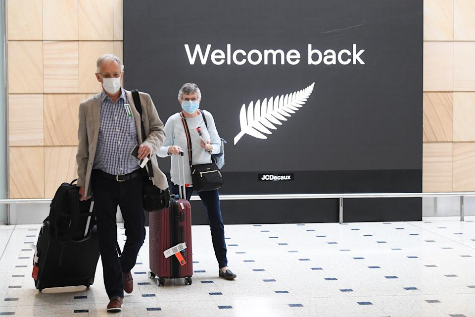 New Zealand travellers were allowed in Australia late last year. Source: AAP