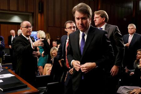 Brett Kavanaugh refuses handshake with Parkland father Fred Guttenberg