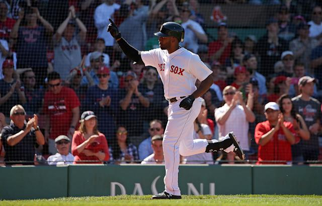 Get JBJ while he's hot. (Photo by Barry Chin/The Boston Globe via Getty Images)