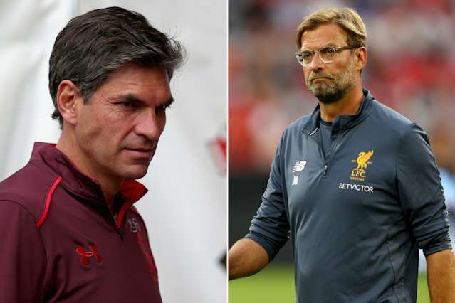 Southampton boss Mauricio Pellegrino and Liverpool boss Jurgen Klopp may want to look away as Chelsea and Barcelona home in on targets