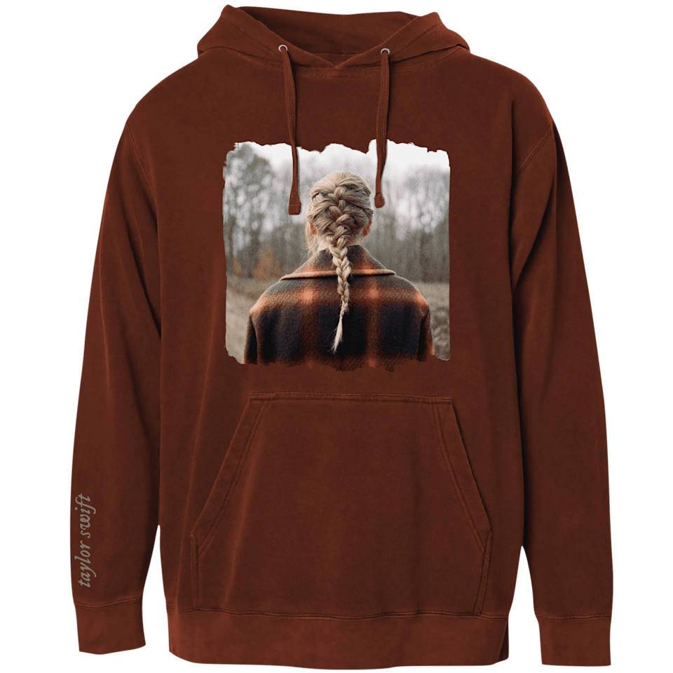 "<p><span>The ""Bandit Like Me"" Hoodie</span> ($58) features the picture from Taylor's newest album, <strong>Evermore</strong>.</p>"