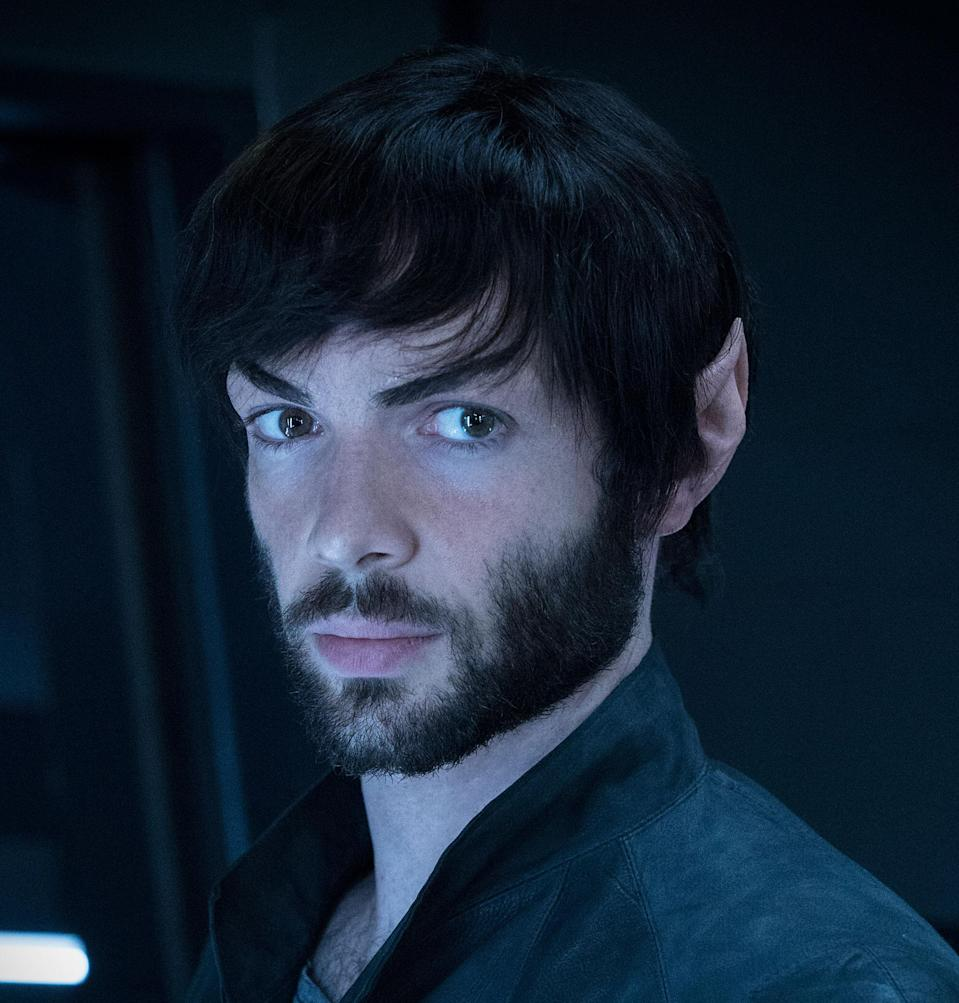 Spock as played by Ethan Peck in Star Trek: Discovery' Season 2