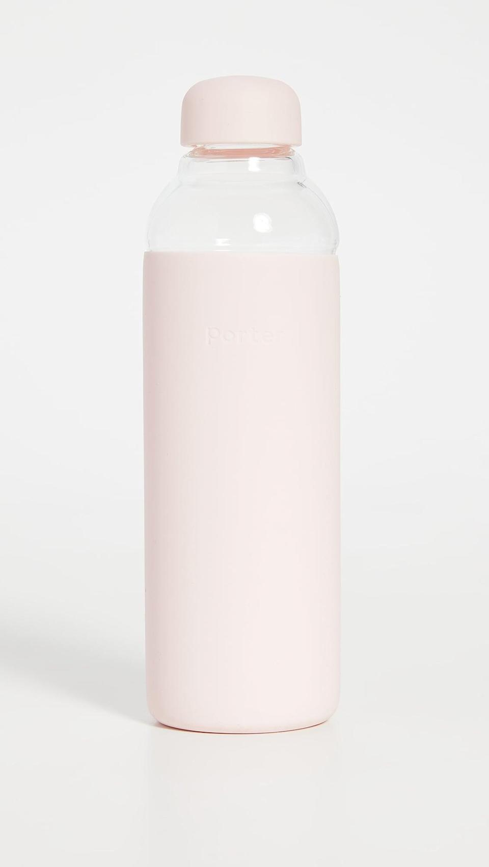 <p>Help them stay hydrated with the <span>Porter Water Bottle</span> ($35).</p>