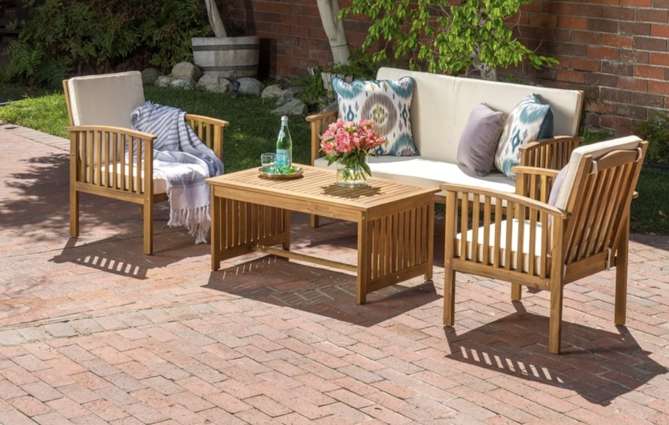 Lounge all day long with your new patio furniture from Overstock.