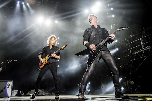 <p>No. 15: Metallica<br>2016 earnings: $18.5 million<br>(AP) </p>