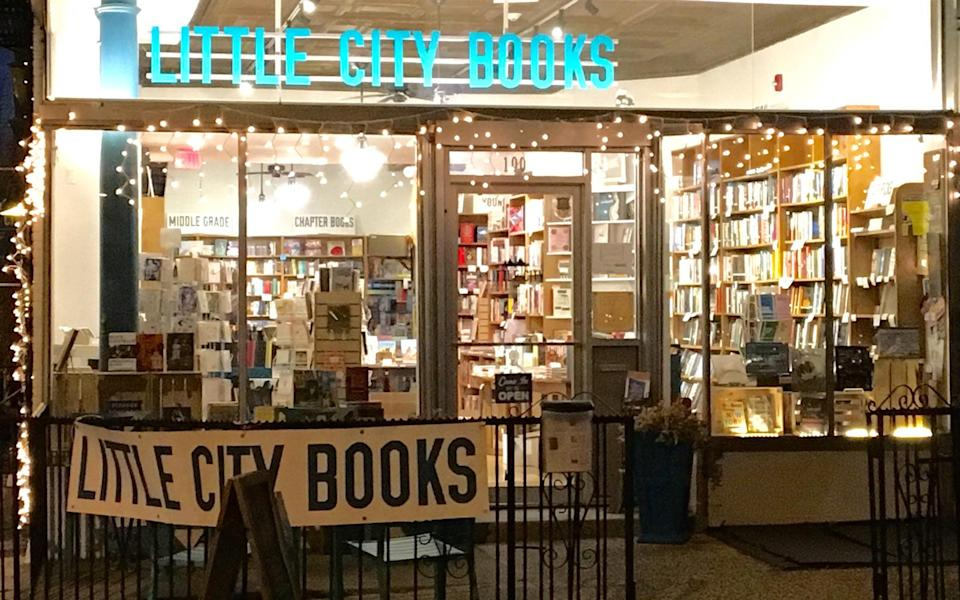 """<p>Opened in 2015 and one of the newest and smallest shops on our list, <a rel=""""nofollow noopener"""" href=""""http://www.littlecitybooks.com/"""" target=""""_blank"""" data-ylk=""""slk:Little City Books"""" class=""""link rapid-noclick-resp"""">Little City Books</a> in downtown Hoboken, a corner shop across the street from City Hall, often feels like something out of Richard Scarry's """"Busytown USA,"""" says co-owners Kate Jacobs and Donna Garban. With a new annex for kids and a truly first-rate children's book section, Little City Books is the perfect fit for <a rel=""""nofollow noopener"""" href=""""http://www.travelandleisure.com/food-drink/restaurants/best-restaurants-hoboken-new-jersey"""" target=""""_blank"""" data-ylk=""""slk:Hoboken"""" class=""""link rapid-noclick-resp"""">Hoboken</a> and its many young families. Nestled below a five-story brick apartment building, with stringing bright lights and huge shop windows, Little City Books won the Hoboken Chamber of Commerce's award for Best New Business in 2015. A regular host of author readings, musical events, story hours and more, the shop has quickly become a postcard perfect community hub.</p>"""