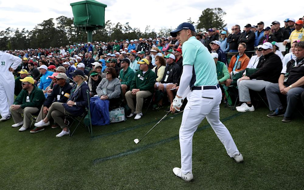 Jordan Spieth of the United States plays a shot - Credit: GETTY