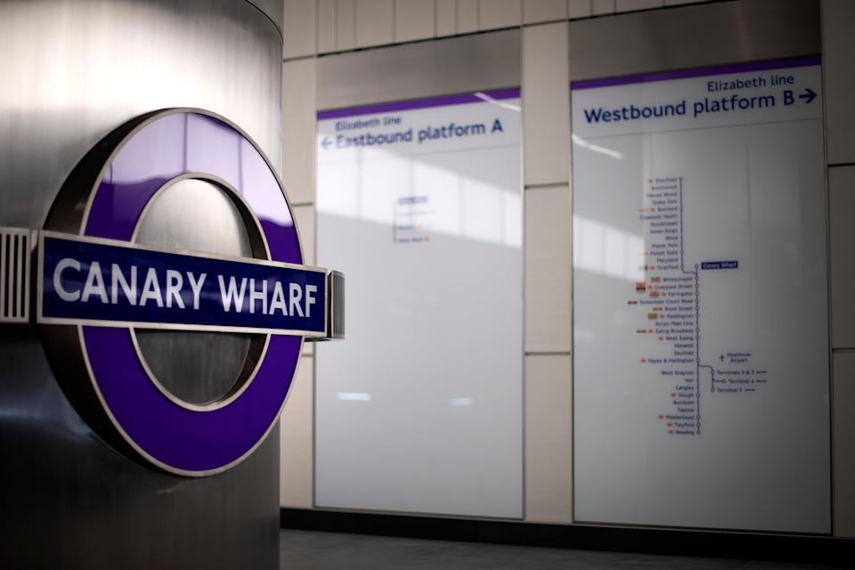 Journeys from Canary Wharf to Heathrow would take just over 30 minutes (Victoria Jones/PA) (PA Archive)