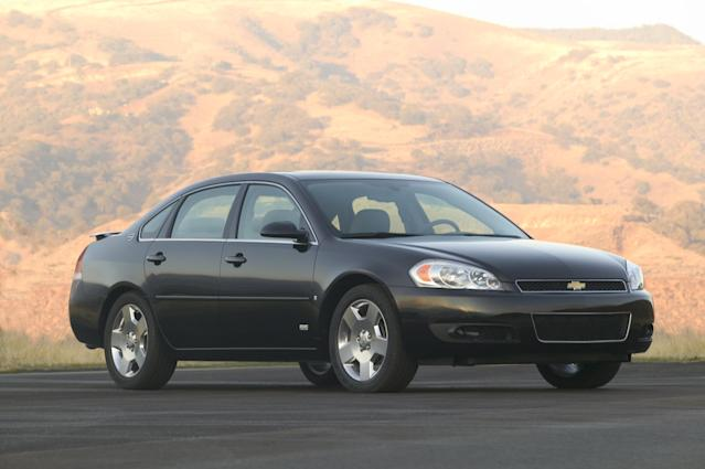 <p>In 2006, GM redesigned the Impala on an updated W platform. It got a bit larger, a bit nicer, but not really any more exciting to look at. It also served as one of the most unlikely foundations for a performance line in GM's history. </p> <p>Yes, the SS returned, and yes, it had a V8 shared with the Pontiac Grand Prix GXP. The only problem? Both were front-wheel drive. Chevy shoehorned a 303-horsepower 5.3L small block between the front wheels, which wore wider rubber than the rears so they could pull double duty as both propulsion and steering implements. </p> <p>The SS lasted only through 2010 — probably longer than it should have, given the fuel prices of the pre-recession 2000s — and the base car survived until 2016, overlapping with the 10th-generation car for two model years as a fleet-only offering. </p>