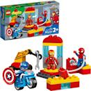 <p>The <span>Lego Duplo Super Heroes Lab</span> ($30) has 30 pieces and is best suited for toddlers ages 2 years and up.</p>