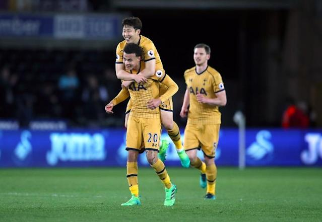 Tottenham recovered late on at the Liberty Stadium on Wednesday, showing a mental strength which is fast becoming their hallmark