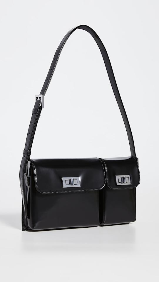 """<p>This <product href=""""https://www.shopbop.com/billy-shoulder-bag-by-far/vp/v=1/1590623772.htm?colorId=1071C"""" target=""""_blank"""" class=""""ga-track"""" data-ga-category=""""internal click"""" data-ga-label=""""https://www.shopbop.com/billy-shoulder-bag-by-far/vp/v=1/1590623772.htm?colorId=1071C"""" data-ga-action=""""body text link"""">BY FAR Billy Shoulder Bag</product> ($538, plus use code FALL20) is timeless.</p>"""