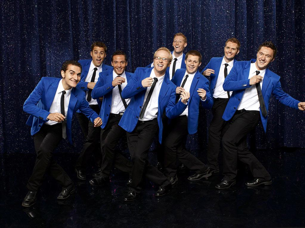 """VOCAL POINT of Provo, UT: The all-male group is Brigham Young University's premiere contemporary a cappella ensemble. Their nine-man vocal firepower continually invigorates audiences and entertains fans with inventive arrangements, humor, and remarkable vocal percussion. Will this group win Season 3 of """"<a href=""""/baselineshow/4738783"""">The Sing-Off</a>""""?"""