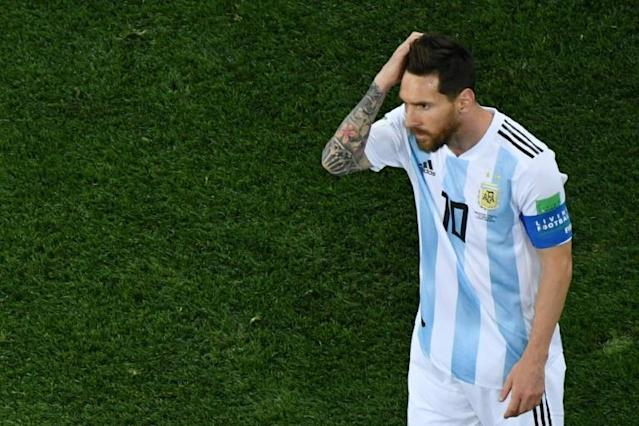 Argentina's forward Lionel Messi's dream of finally lifting a major title is in jeopardy