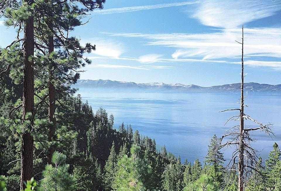 Although steep, the Tunnel Creek Trail from Hidden Beach Trailhead rewards with stunning views of Lake Tahoe.