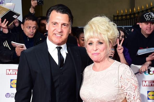 Dame Barbara Windsor is becoming more scared, says husband