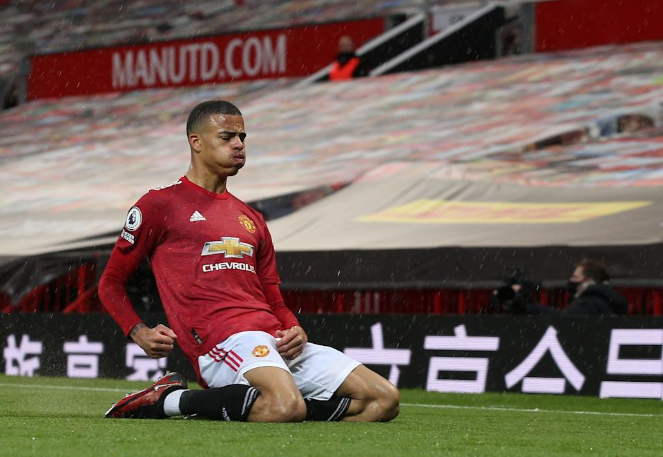 Mason Greenwood continued his goalscoring streakManchester United via Getty Imag