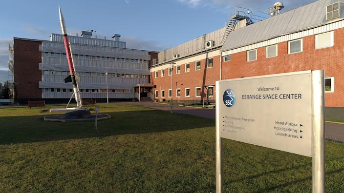 Outside the Esrange Space Center offices.  - 0044aac04e9544911a9d0bebee487335 - Sweden Is Building a Massive Space Complex—And It'll Be Europe's First Orbital Launch Site for Satellites