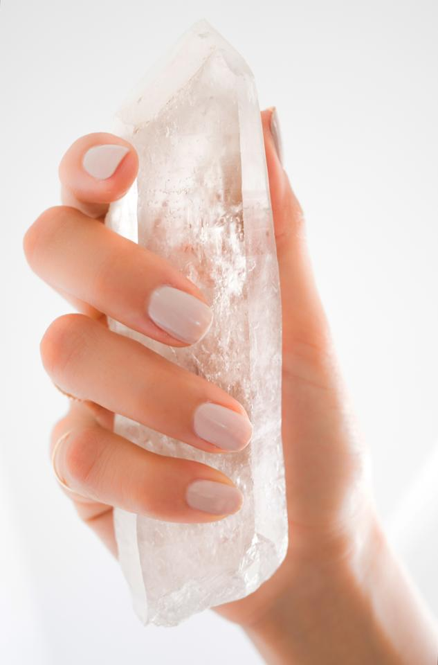 "<p>If you don't want a crystal-infused product per se, collecting straight-up crystals are just as amazing and something you can bring with you wherever you go. A great stone to start with is a quartz crystal, which has been known to energize one's soul and also works well when combined with other stones. Prices vary, <a rel=""nofollow"" href=""https://www.energymuse.com/quartz-crystal?p=1"">energymuse.com</a>) (Photo: Energy Muse) </p>"