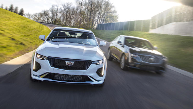 2020 Cadillac CT4 Sport and Premium Luxury