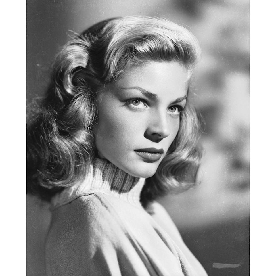 The notable feature of Bacall's brows was their versatility surrounding her expression. They could be at once sultry, defiant, and coquettish, depending on her mood.